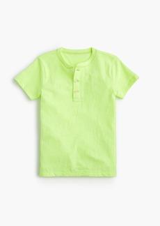 J.Crew Boys' short-sleeve henley shirt in the softest jersey