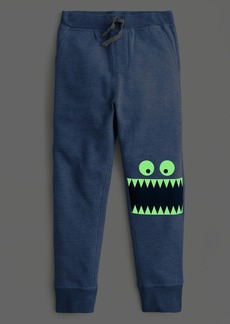 J.Crew Boys' slim-fit sweatpant with glow-in-the-dark Max the Monster™ knees