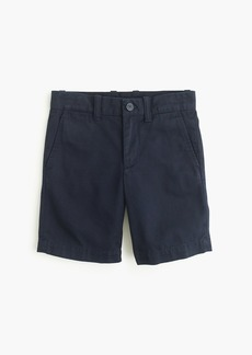 J.Crew Boys' Stanton short in garment-dyed chino
