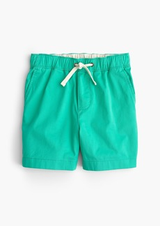 J.Crew Boys' stretch dock short in lightweight chino