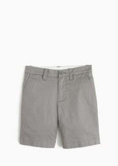 J.Crew Boys' stretch Stanton short in lightweight chino