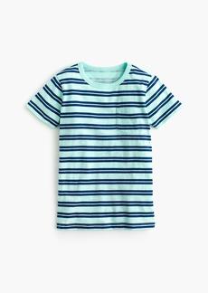 J.Crew Boys' striped pocket T-shirt