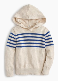 J.Crew Boys' striped popover hoodie