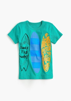 "J.Crew Boys' ""surf the wave"" T-shirt"