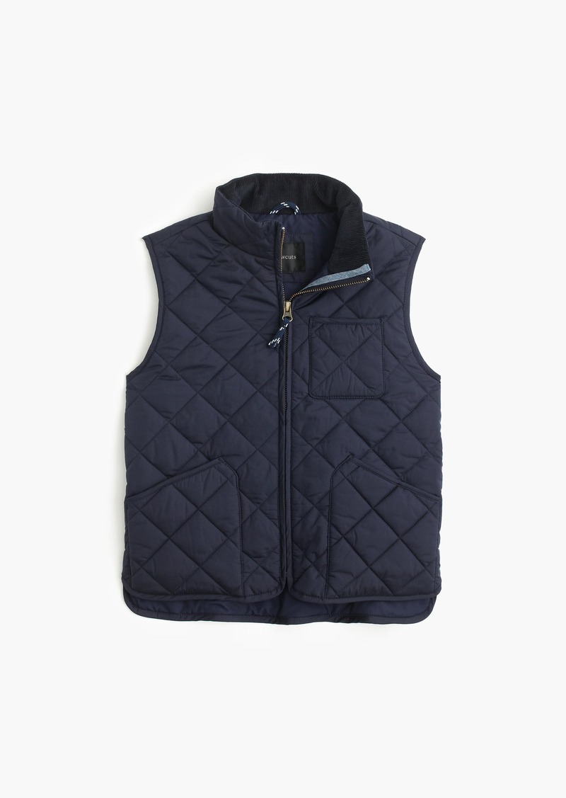 2ed0a3c34e6a SALE! J.Crew Boys  Sussex quilted vest