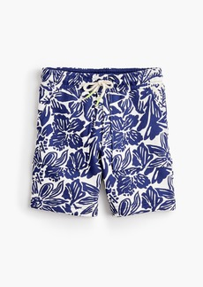 J.Crew Boys' sweatshort in tropical print