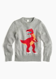 J.Crew Boys' T-Rex sweater