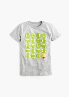 J.Crew Boys' tennis emoji T-shirt