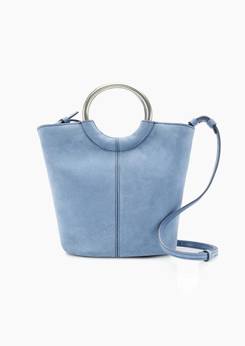 J.Crew Bracelet bucket bag in Italian suede