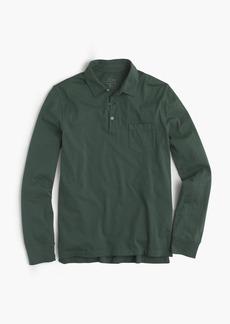 J.Crew Tall broken-in long-sleeve pocket polo shirt