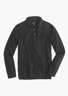 J.Crew Broken-in long-sleeve pocket polo shirt
