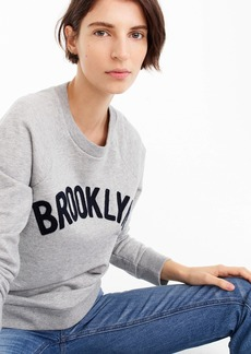"J.Crew ""Brooklyn"" pullover sweatshirt"