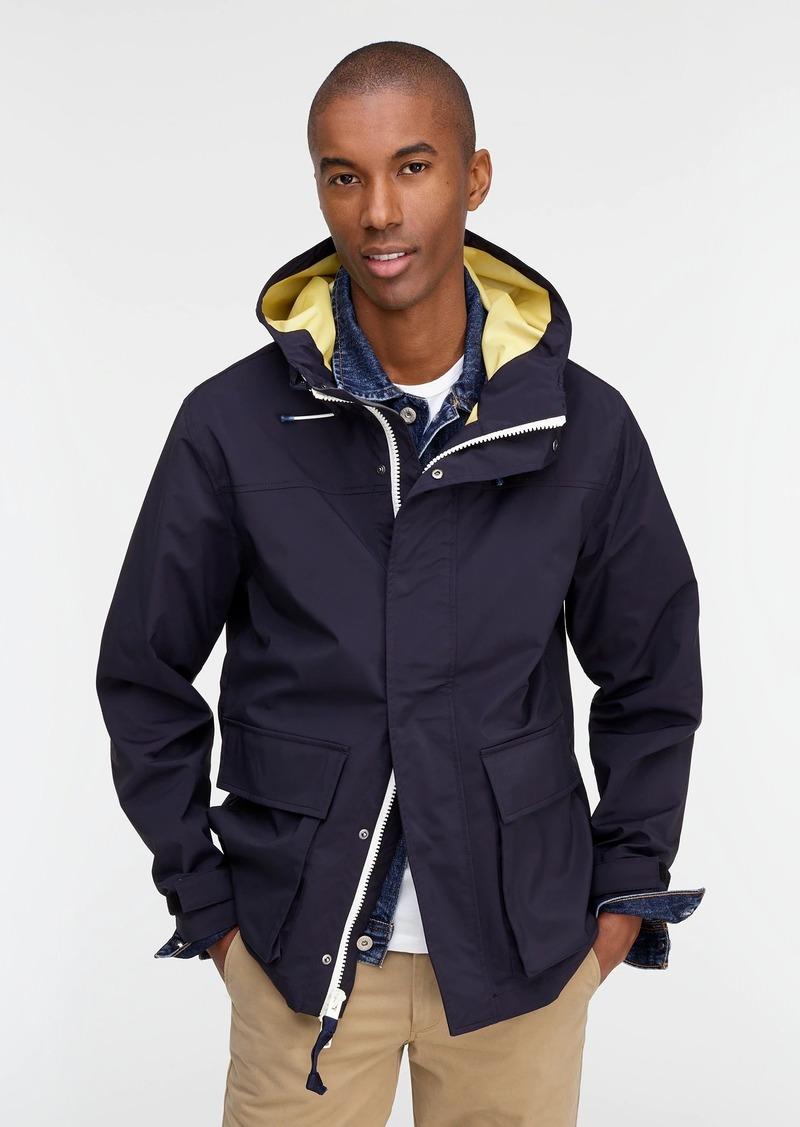 J.Crew Brunswick rain jacket
