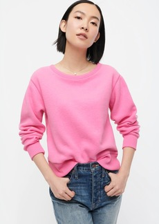 J.Crew Brushed terry pullover sweatshirt