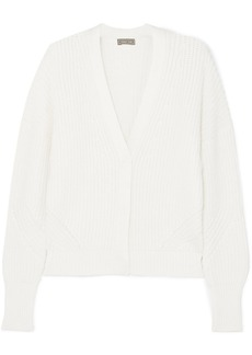 J.Crew Brynn Ribbed Cotton-blend Cardigan