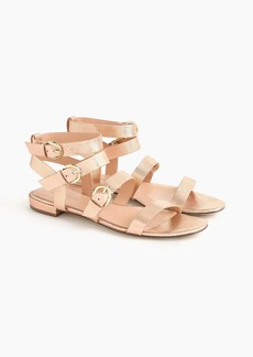 J.Crew Buckled gladiator sandals