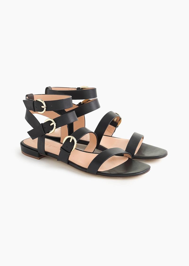 J.Crew Buckled gladiator sandals