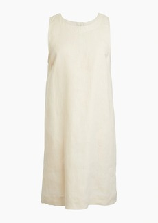 J.Crew Button-back linen shift dress