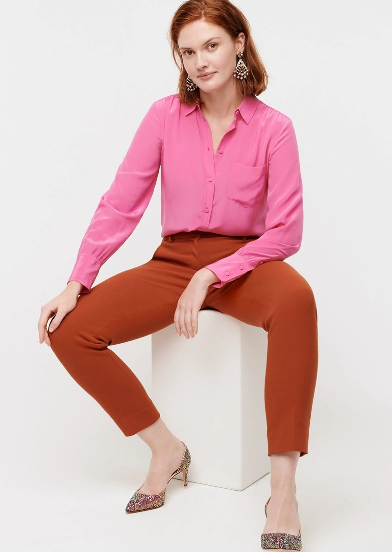 J.Crew Button-up shirt in Re-Imagined Silk