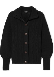 J.Crew Cable-knit Wool-blend Cardigan