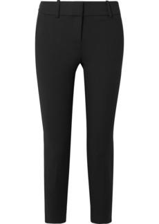 J.Crew Cameron Cropped Stretch-cady Slim-fit Pants