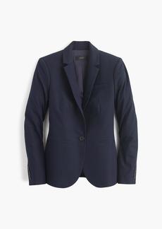 J.Crew Campbell blazer in bi-stretch cotton