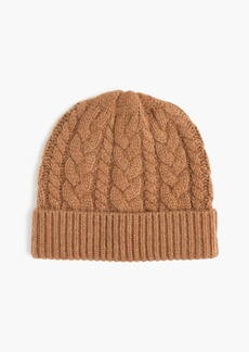 J.Crew Cashmere cable beanie