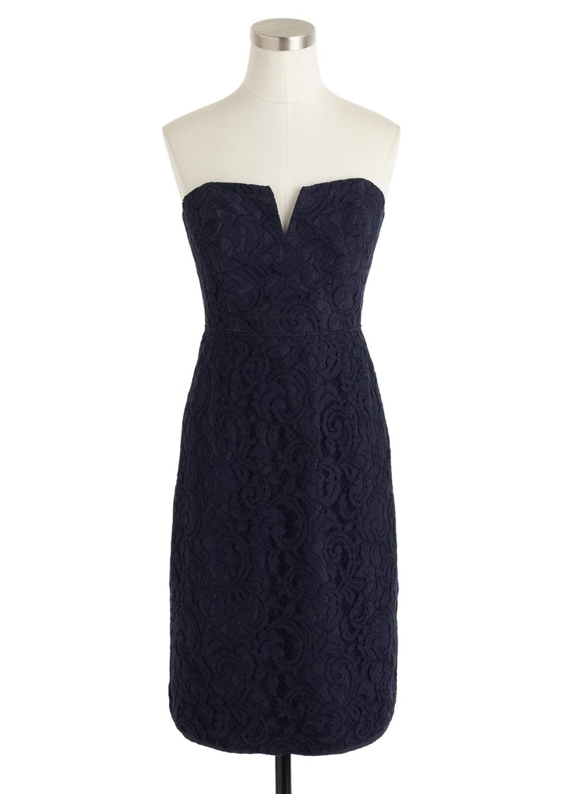 Cathleen Dress In Leavers Lace J Crew