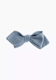 J.Crew Chambray bow tie