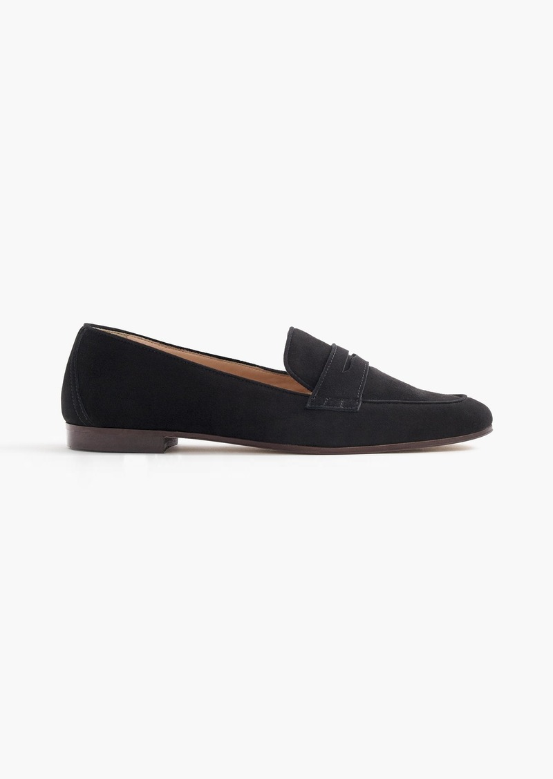 f487cd6d2c2 J.Crew Charlie penny loafers in suede