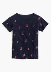 J.Crew Cherry T-shirt