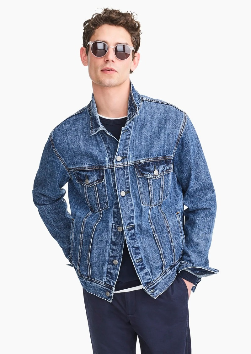 4806c4987705 J.Crew Classic denim jacket | Outerwear