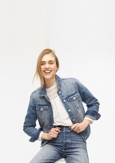 J.Crew Classic denim jacket in brilliant day wash