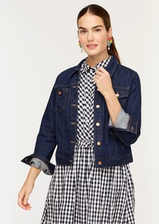 J.Crew Classic denim jacket in resin rinse