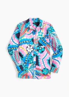 J.Crew Classic-fit boy shirt in Ratti® kaleidoscope floral