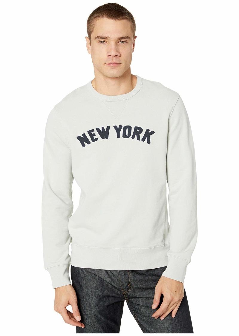 J.Crew Classic French Terry New York Graphic Sweatshirt
