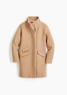 J.Crew Cocoon coat in Italian stadium-cloth wool