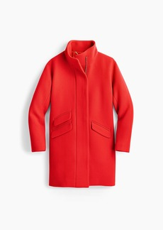 J.Crew Cocoon coat in Italian stadium-cloth wool