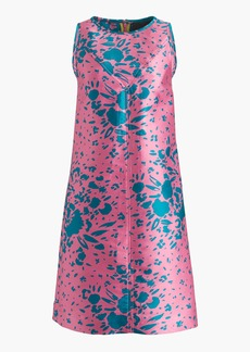 J.Crew Collection A-line shift dress in Ratti® abstract floral