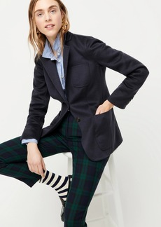 J.Crew Collection double-faced cashmere blazer