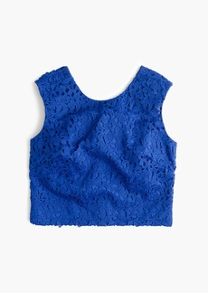 J.Crew Collection lace crop top