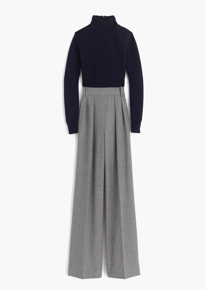 J.Crew Collection mockneck trouser jumpsuit