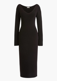 J.Crew Collection ribbed sweater dress