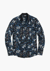 J.Crew Collection silk blouse in nightfall freesia