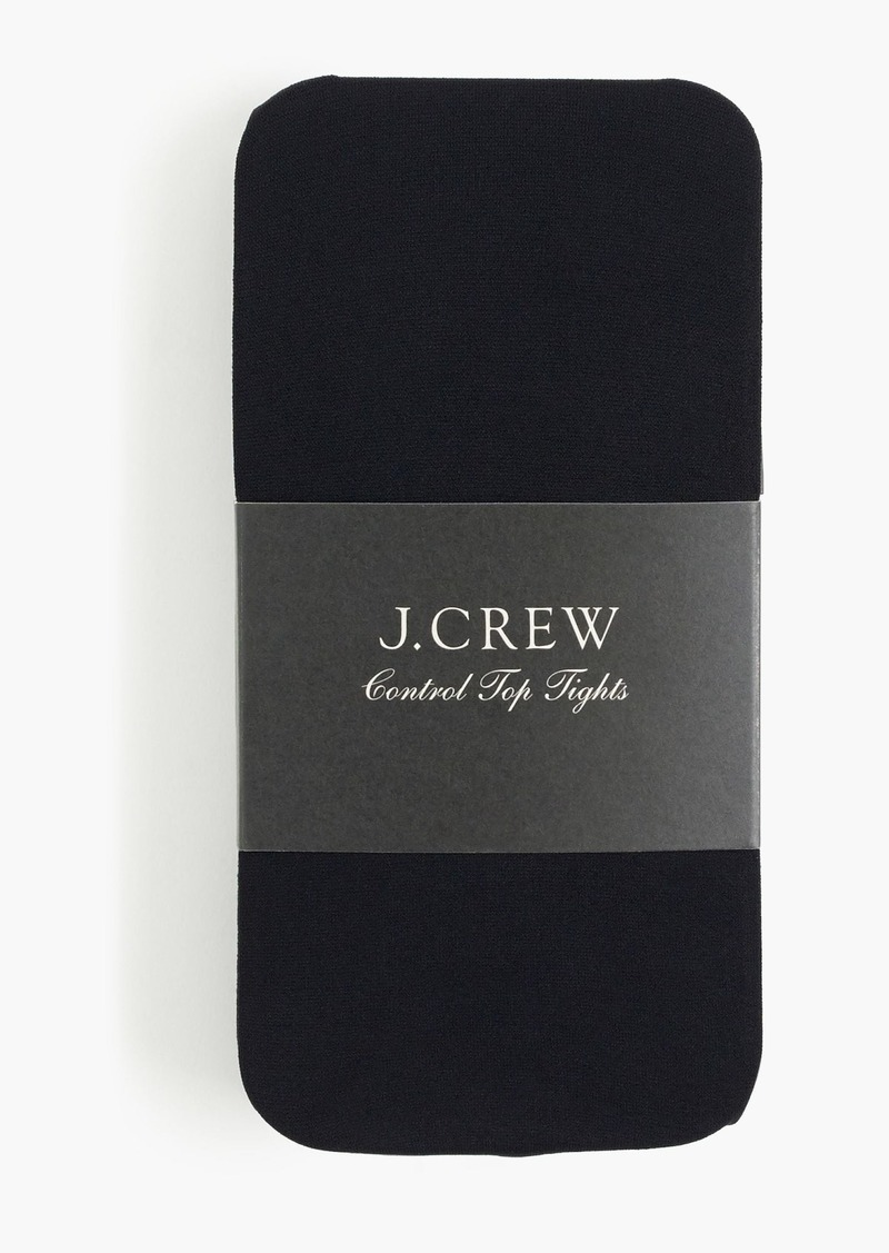 J.Crew Control top opaque tights