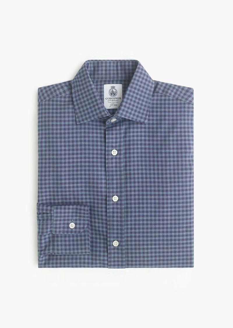 Cordings™ for J.Crew shirt in blue gingham
