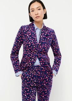 J.Crew Corduroy blazer in dotted floral