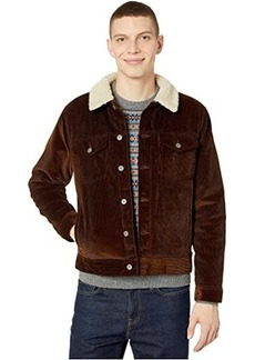 J.Crew Corduroy Jacket with Sherpa Collar and PrimaLoft®