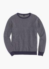 J.Crew Cotton-cashmere crewneck sweater in jacquard