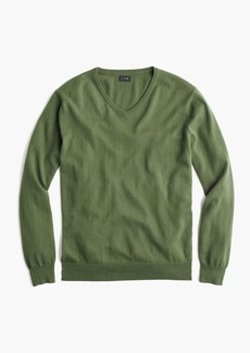 J.Crew Cotton-cashmere V-neck sweater